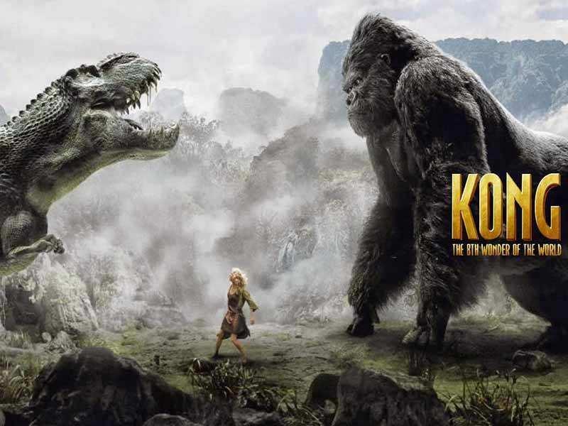 king kong conro il dinosauro